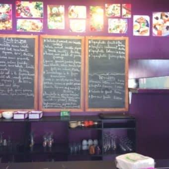 Restaurant dans un centre commercial, Antananarivo