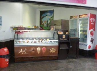 Glacier dans une galerie commercial, Alarobia